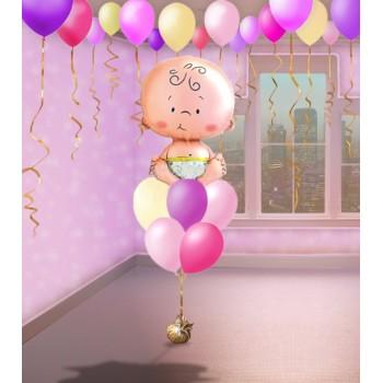 Набор №110 (фонтан и 10 шаров под потолок)
