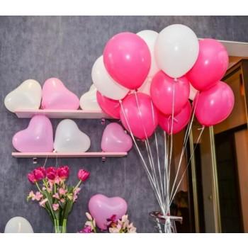Гелиевые шары на выписку (без рисунка) для девочки