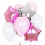 Розово-серебристые