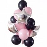 Черно-розовые
