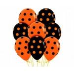 Черно-оранжевые