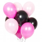 Черно-бело-розовые