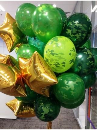 Камуфляжные (хаки, милитари) шары