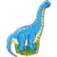 Диплодок динозавр (синий)
