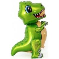 Ходячая Фигура, Маленький динозавр, Зеленый, 30''/76 см