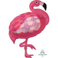 фигура фламинго перламутр