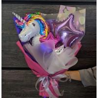 крафтовый букет на день рождения №3