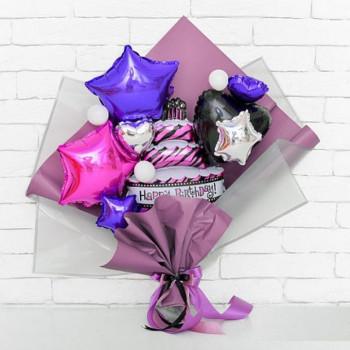 крафтовый букет на день рождения №2